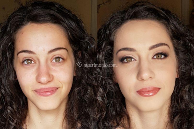 Makeup sposa giorno