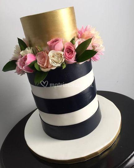 Torta black & white