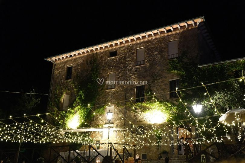 La Villa di notte