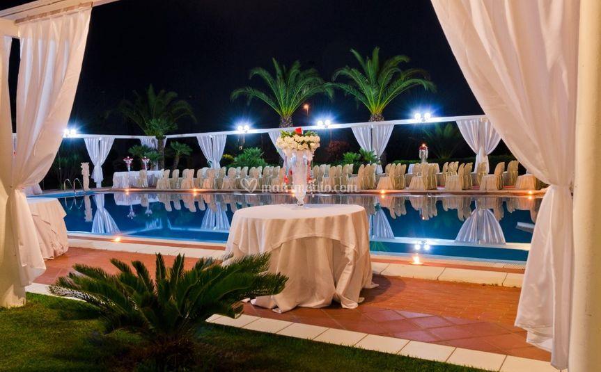 Matrimonio civile piscina