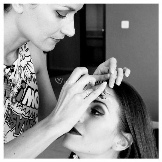 Backstage Artistic Make Up