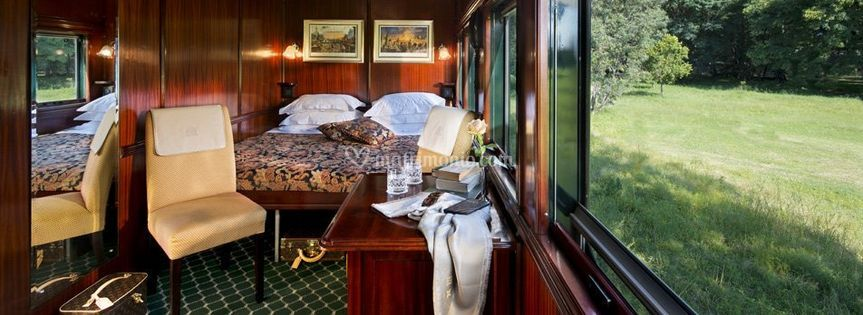 Rovos luxury train Africa