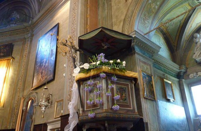 Decorazione di chiesa