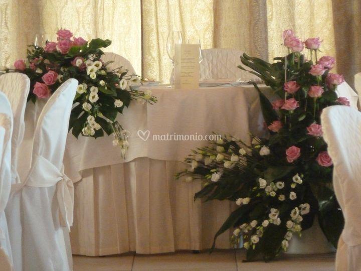 Particolare - tavolo sposi