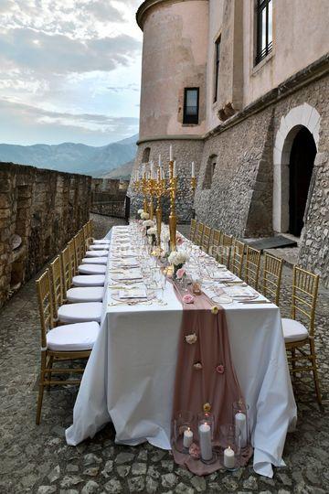 Matrimonio pink and gold