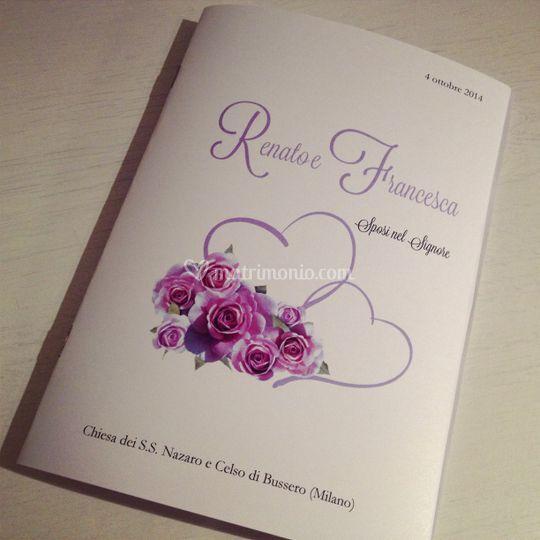 libretto matrimonio bouquet di libretti per la messa foto 1