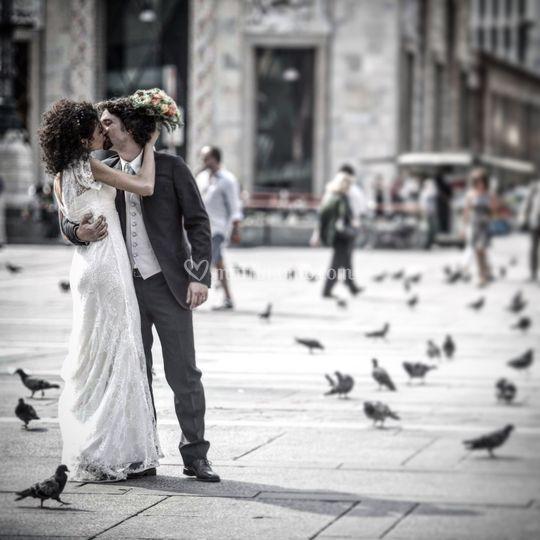 Bacio in Duomo