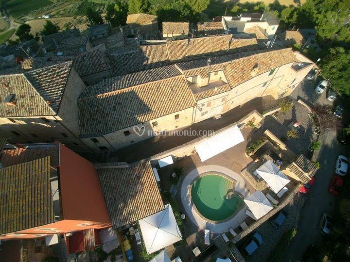 Borgo da Mare dal drone