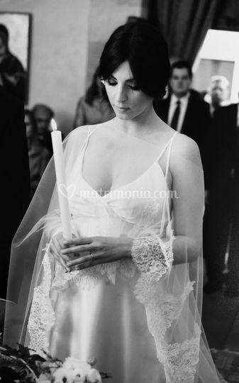 Our beautiful bride Roberta