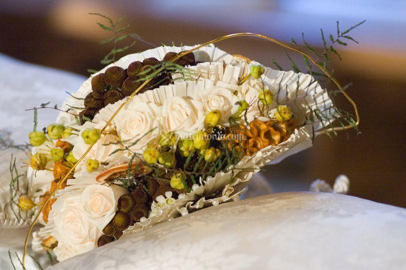 Bouquet da sposa ventaglio