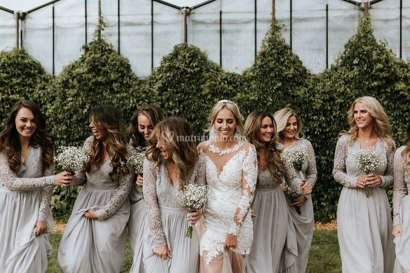Amiche della sposa ad Amsterda