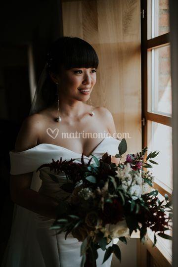 Ritratto della sposa in Toscan