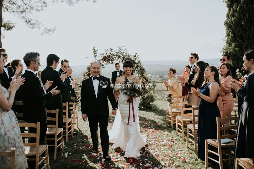 Just married in Toscana