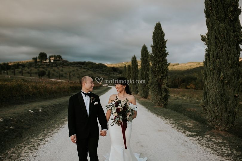 Matrimonio cinese in toscana