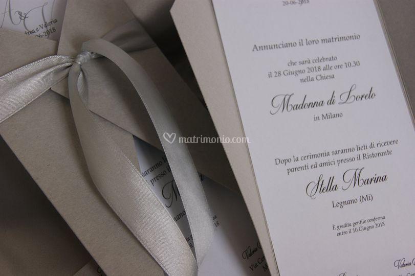 Set partecipazioni nozze E008