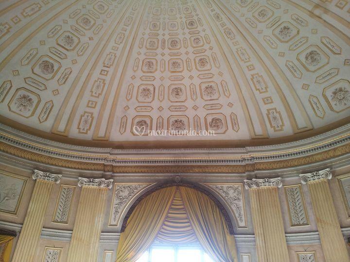 Il Salone - soffitto a cupola