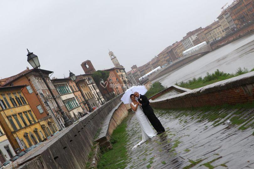 Sposi Lungarno a Pisa