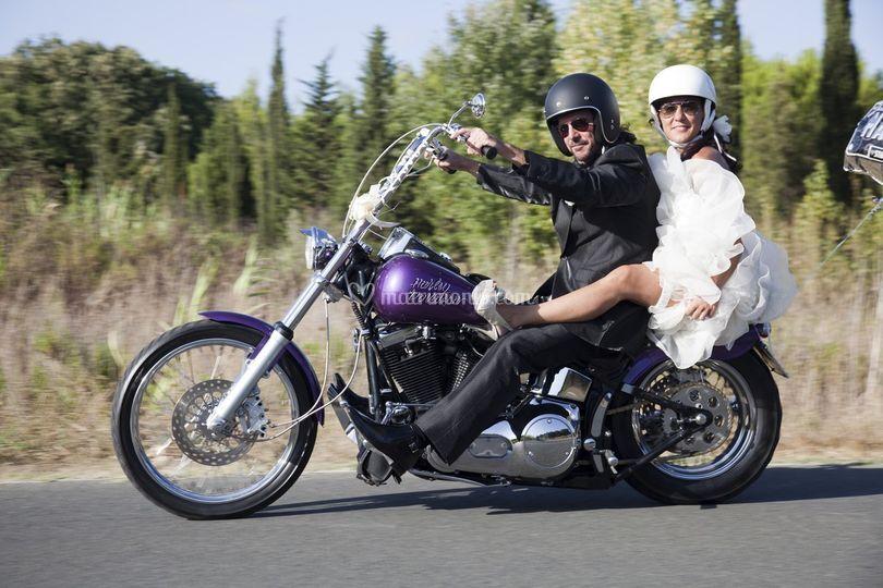Un giro in moto