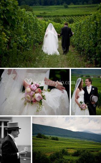 Matrimonio In Francese : Matrimonio francese vintage per vanessa e nicolas