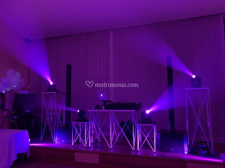 Impianto audio luci