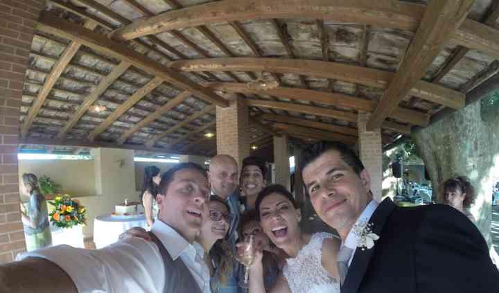 Selfie con gli sposi :)