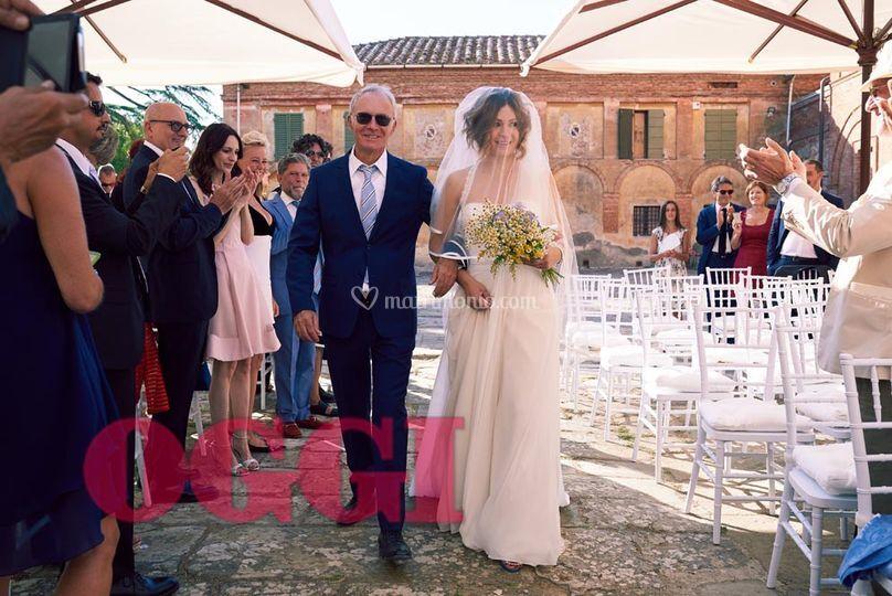Matrimoni Vip Toscana : Matrimonio vip oggi di tenuta la fratta foto
