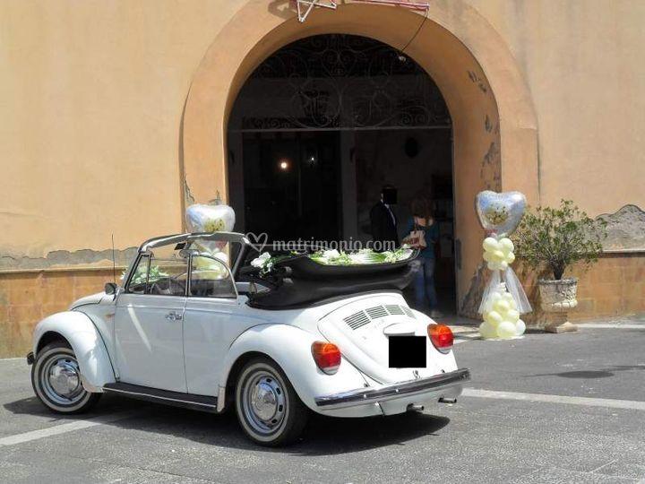 Auto Matrimonio Toscana : Noleggio maggiolone cerimonie di emanuel