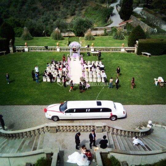 Limousine per matrimoni