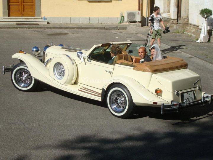 Auto d'epoca cabrio