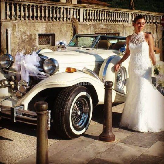 Auto per la sposa