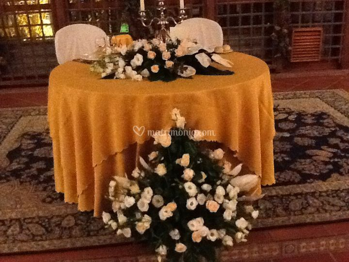 Tavolo sposi