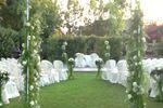 Matrimonio all'aperto di Villa Lig�