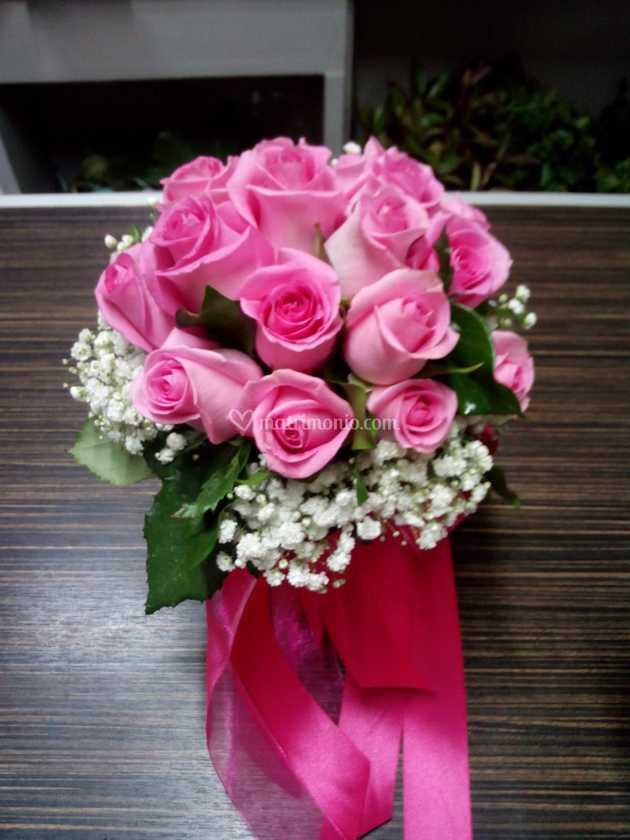 Bouquet Sposa Fucsia.Bouquet Rose Fucsia Di Biasibetti Silvio Figli Foto 60