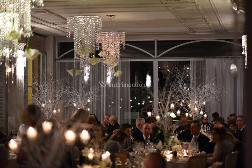 Allestimento sala di Villa Giulia Rist. Al Terrazzo | Foto 26