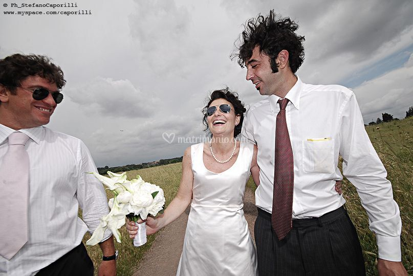 Sposa e testimoni