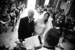 Claudio e Elena in chiesa