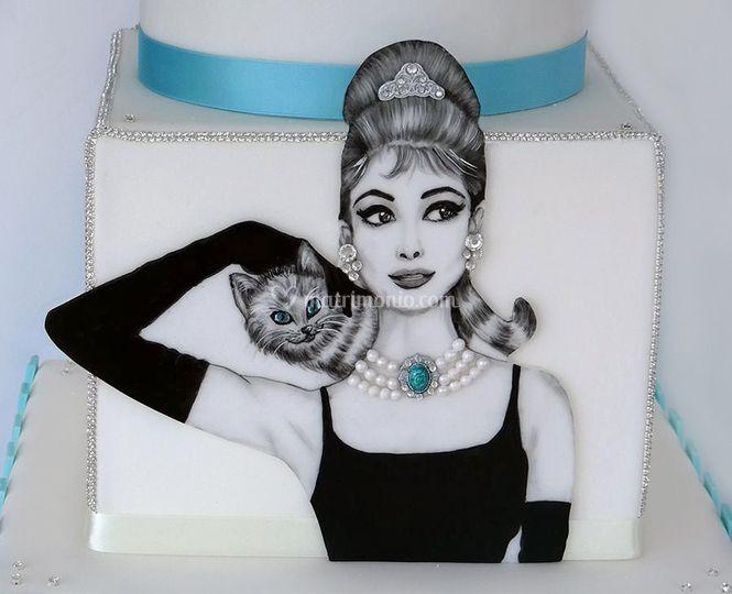 Audrey Epburn Cake