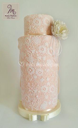 Wedding Bride dress Cake