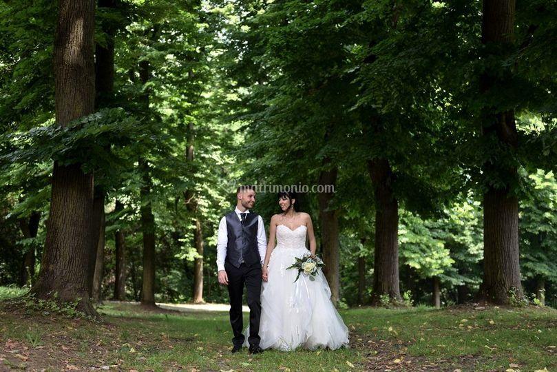 Sposi al Parco della Mandria
