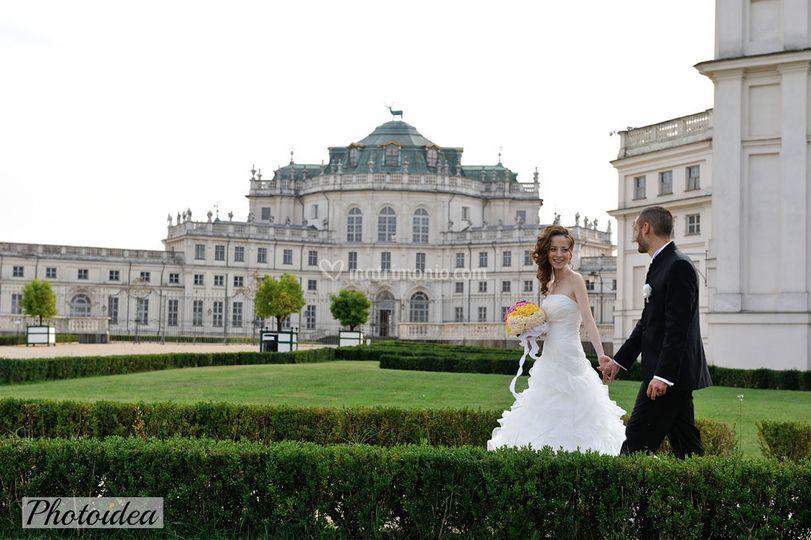 Sposi al Castello di Stupinigi