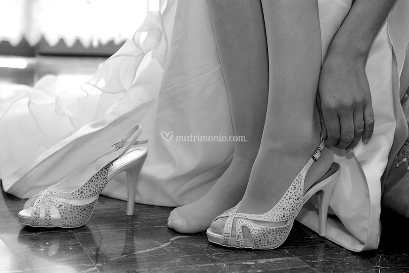 Le scarpe della sposa