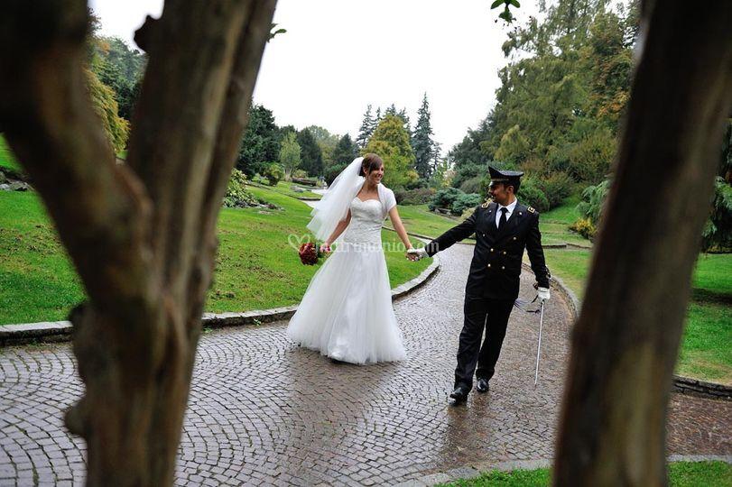 Sposi al parco del Valentino