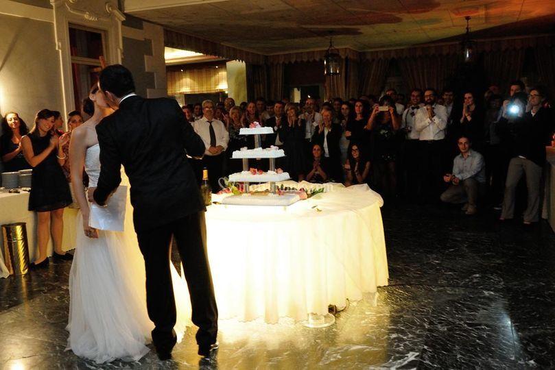 La torta degli sposi