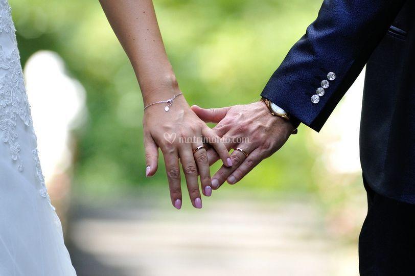 Gli anelli degli sposi
