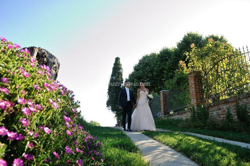 Sposi a Villa Santa Margherita