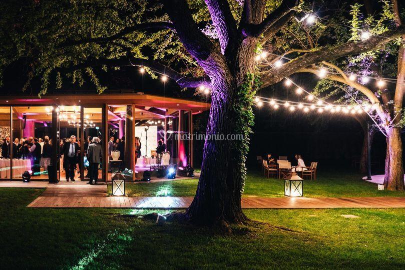 Esterno Sala Garden Pavillon