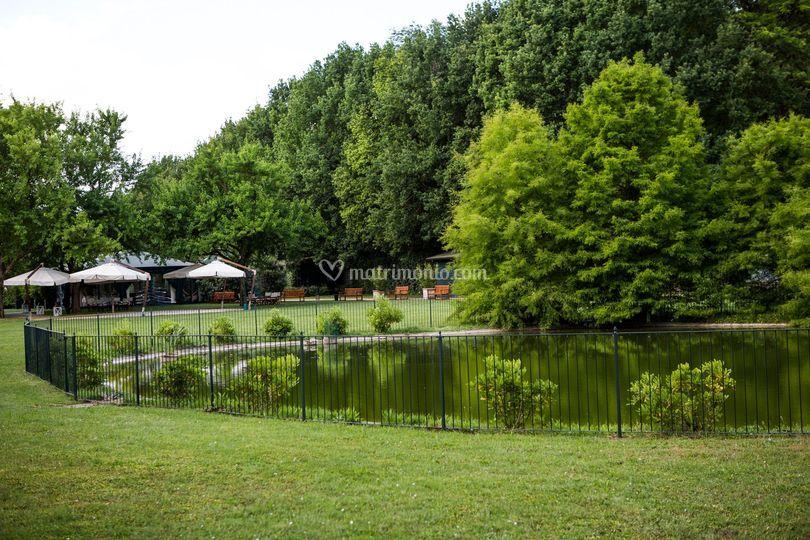 Il parco della Sala le Ninfee
