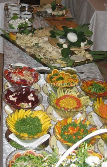 Buffet insalate