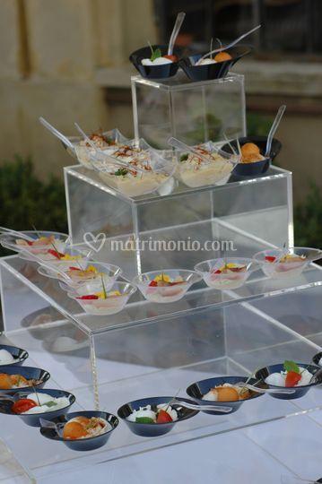 Buffet aperitivi