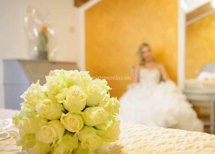 Bouquet sposa full rose